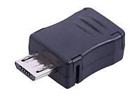 Коннектор micro USB разъем штекер микро ЮСБ папа micro-USB microUSB