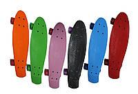 Пенни борд/Penny Board Original 22, колеса PVC, разн. цвета.