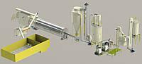 Линия по производству гранул и брикета