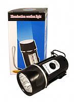 Фонарь аккумуляторный с магнитом 15628 (фонарь светодиодный),