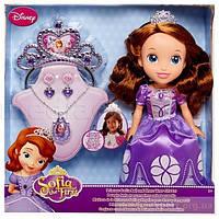 Кукла jakks pacific 93120 принцесса софия с украшениями для девочки