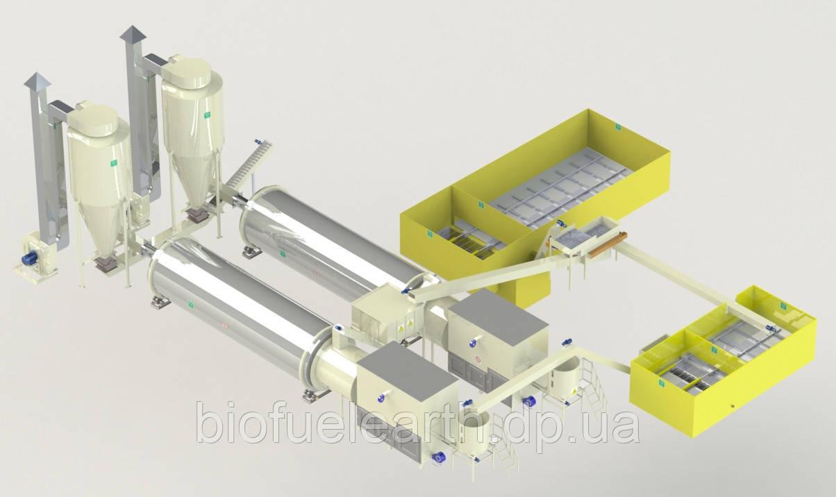 Сушильный комплекс 3500-5000 кг/ч.