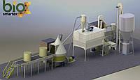 Линия гранулирования 3000-4000 кг/ч   2.5-5 т.ч. / до - 15%