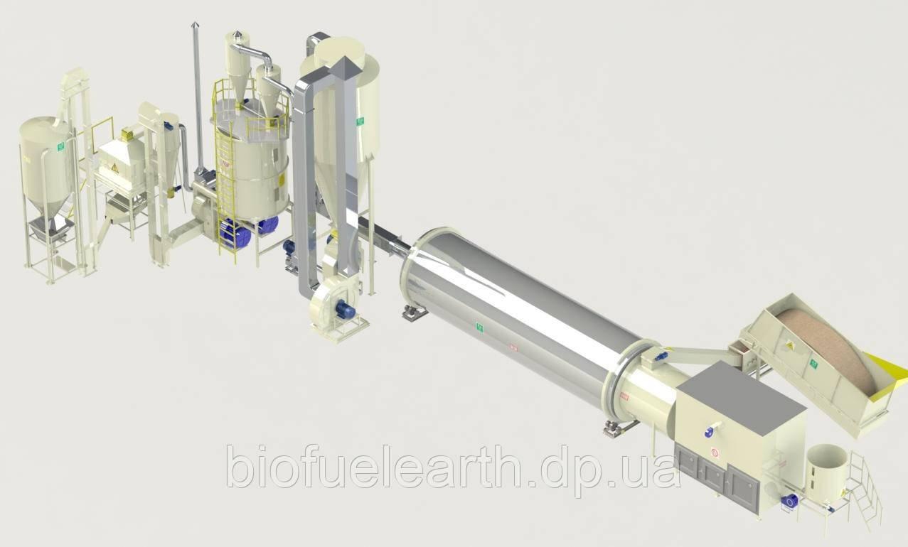 Линия гранулирования 1800-2200 кг/ч (Basic)