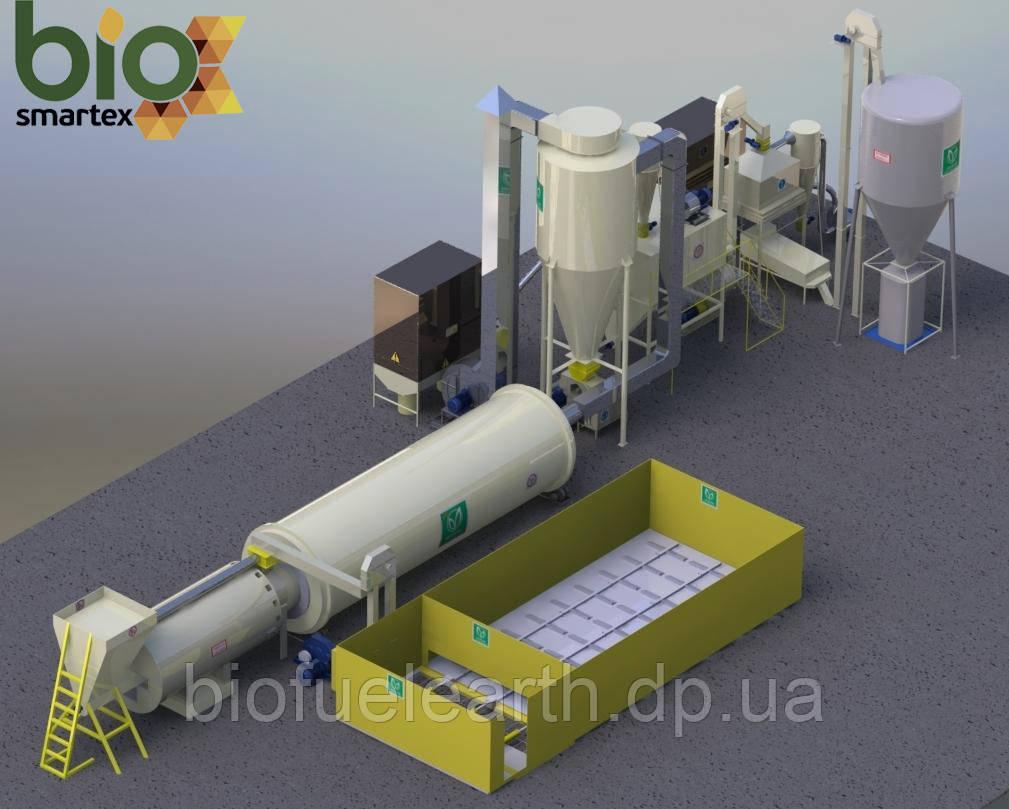 Линия гранулирования 2000-3000 кг/ч (Basic + A + P + 100 с.м.)