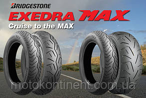 Моторезина 150 90 r15 BRIDGESTONE EXEDRA MAX задняя 150/90B15 74V TL EXEDRA MAX REAR, фото 2