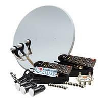 Комплект на 3 спутника для 2-х ТВ HD Комбо с Т2