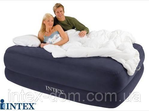 Надувная кровать Intex 66956 ИНТЕКС ( 152x203x56 см)Foam Top Bed. киев