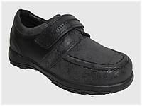 Детские полуботинки чёрные для мальчика VITALIYA, размеры 23-31.5