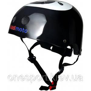 Шлем детский Kiddi Moto бильярдный шар, размер M 53-58см, чёрный + сертификат на 50 грн в подарок (код 155-227325)