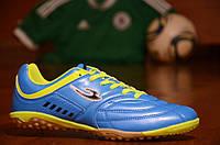 Сороконожки футзалки бампы для футбола синие. Только 44р!