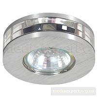 Светильник галогеновая лампа candellux sa-05 sns mr16 (1 x 50w) сатин