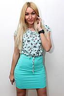 Платье женское модное с поясом  арт.412, фото 1