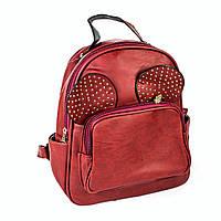 """Красный рюкзак """"Микки"""""""