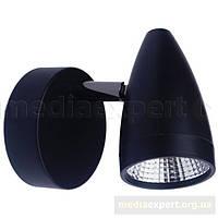 Бра light prestige lp-2638/1w cortino черный