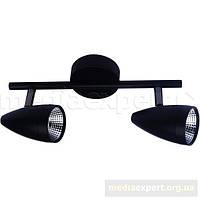 Светильник light prestige lp-2638/2w cortino черный