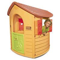 Домик детский игровой Natural с горкой XS Smoby - Франция