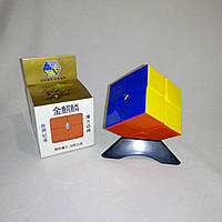 Цветной кубик Рубика 2х2 Yuxin Gold (Кирин кубик-рубика)