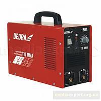 Сварочный аппарат инвекторный dedra desti160l tig z funkcja mma 160a