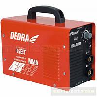 Сварочный аппарат инвекторный dedra desi199bt igbt mma 180a