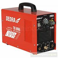 Сварочный аппарат инвекторный dedra desti203p mma/tig pulse 200a
