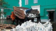 Вывоз строительного мусора в Киеве и области. Погрузка