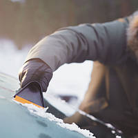 Автомобильный скребок для льда Fiskars Solid (143063 - 1019354)