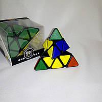 Пирамидка Рубика с накладками, без наклеек (Тетраэдр) QJ