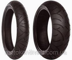 Моторезина 150 70 r17 Bridgestone Battlax BT-021 Radial задняя 150/70-17 (69W) BT0-21 бескамерная, фото 2