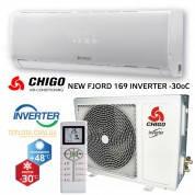 Кондиционер инверторный CHIGO CS-70V3A-W169 - Тепловой насос CHIGO NEW FJORD 169