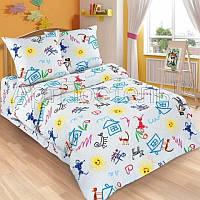Ткань для детского постельного белья, поплин Переменка