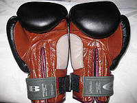 "Перчатки боксерские 10 унций кожа ""ТМ JAB"""