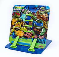 """Подставка для книг цветная металлическая 1 Вересня """"Ninja Turtles"""" 470417"""