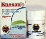 «Биолан +» в таблетках с Mg и витамином В6