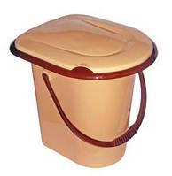 Ведро-туалет с крышкой 17, 18 л, средства по уходу за инвалидами