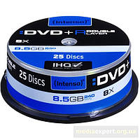 Плита intenso dvd+r double layer
