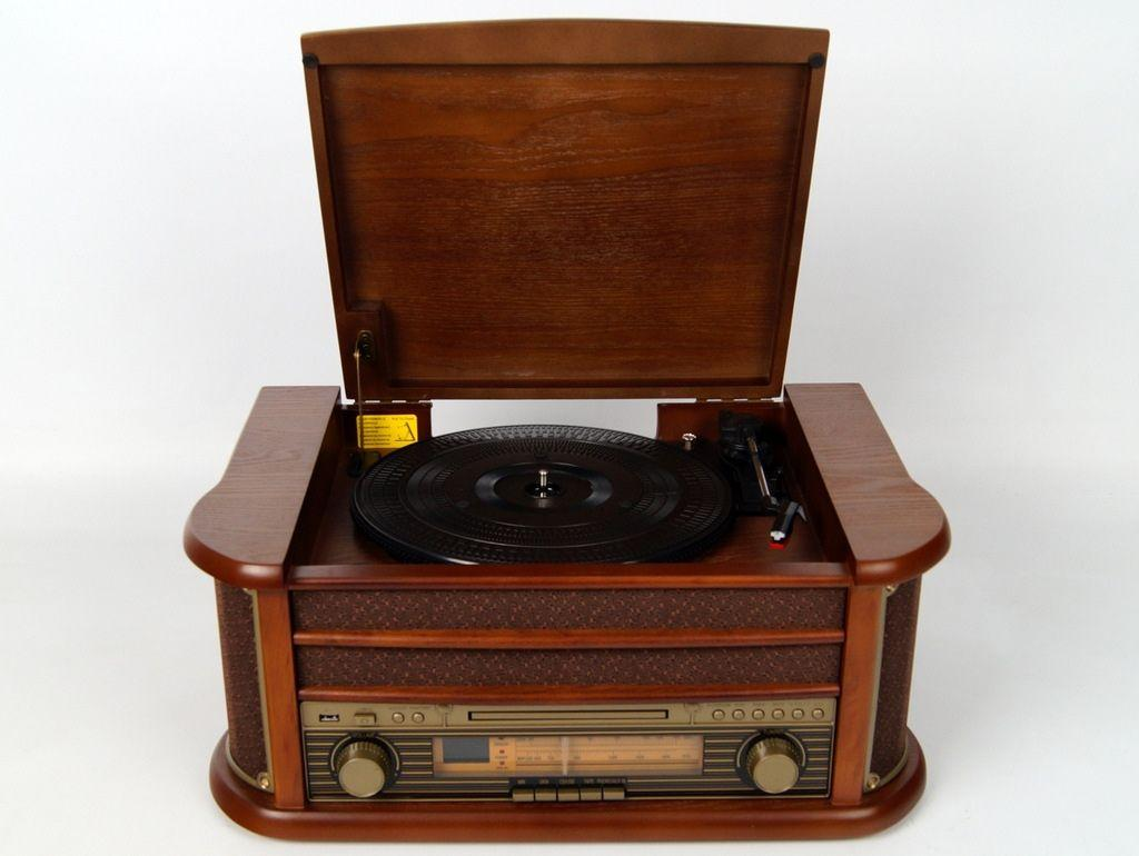 Ретро граммофон виниловый  Soundmaster