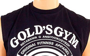 Майка спортивная GOLD'S GYM (Black)