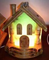 Соляные светильники с лечебными свойствами, оригинальный подарок