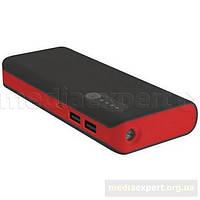 Powerbank platinet 42899 (13000 мач) черно-красный
