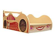 Кровать-машинка для девочки Китти Форсаж Viorina-Deko 70×140 Да