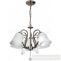 Лампа подвесной светильник light prestige кьяри 5 lp-80004/5p белый