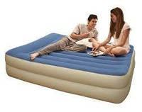 Надувная кровать (203 x 152 x 47 см) Intex 67714  (встроенный электрический насос, сумка для переноски)