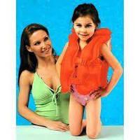 Надувной жилет для плавания детский (от 3 до 6 лет.) Intex 58671