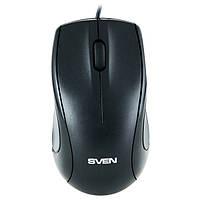 Мишка USB класична Sven RX-150 USB+PS/2 Black
