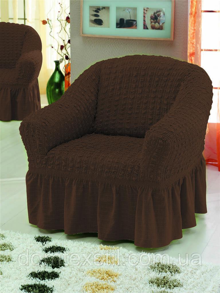 Чехлы на кресло Турция (шоколадный)