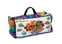Шарики для игровых центров (100 пластмассовых шариков) Intex 49602