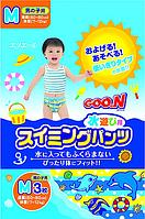 """GOO.N Плавательные подгузники - трусики """"GOO.N"""", M (7-12 кг), для мальчиков, 3 шт"""