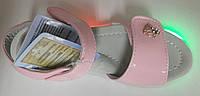 Босоножки с мигалками, светящаяся подошва ТМ Шалунишка размеры  23-25 26 27 29