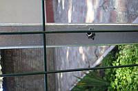 Столб для забора из профильной оцинкованной трубы 50х50х2,0 мм высотой 2,0 м.